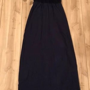Way In Clothing Co Dress SZ XS Maxi Lined Mesh